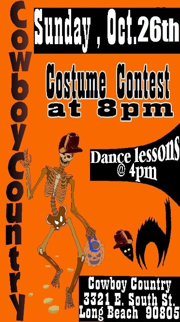 Oct. 26 :: Gay Costume Country Dance